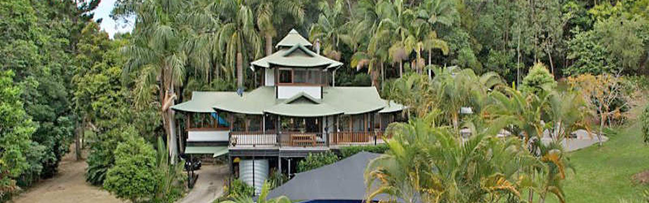 Tropical Building Tahiti Houses