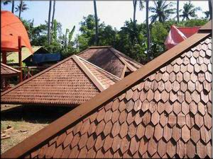 Tropical Building Timber Shingle Roofing